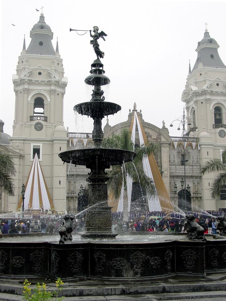 Town Square, Lima, Peru