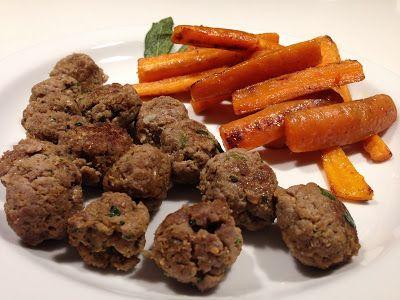 Chef Home Made: Polpette di manzo alla birra con carote al burro