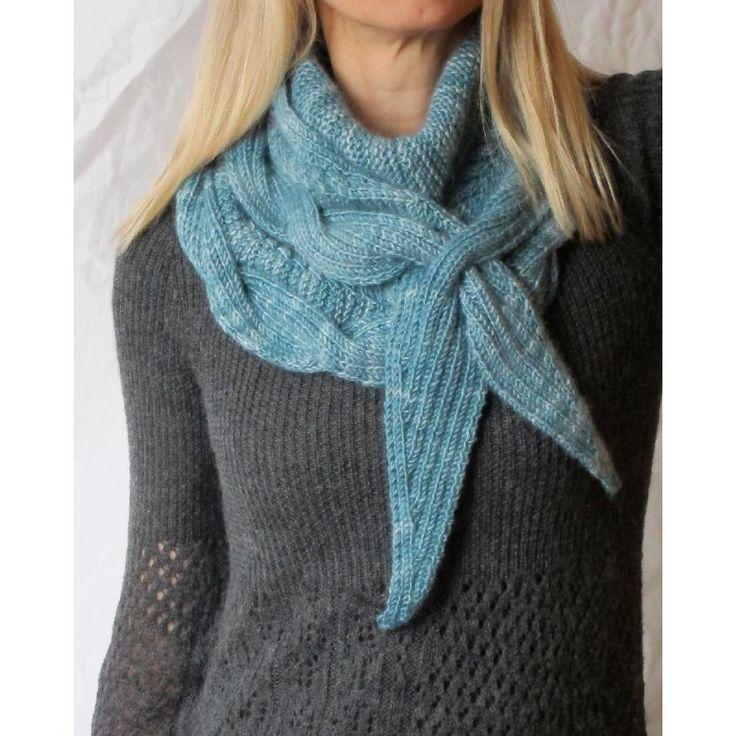 Betangled Shawlette Knitting pattern by Jennifer Weissman   Knitting Patterns   LoveKnitting   Knitting, Knitting patterns, Knit crochet