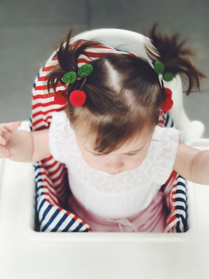 CHERRY HAIR CLIP 'CHERISE' - SET OF 2    #MamaFashionMe - Aussie Online Store with Beautiful Accessories for Girls + Some for Boys
