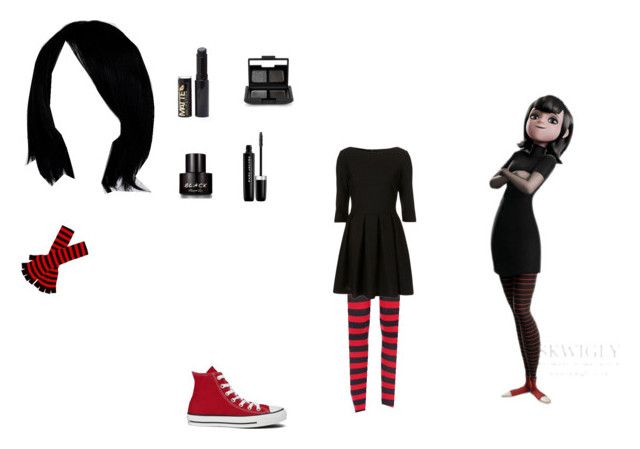 MAVIS by mayleneholm on Polyvore featuring Converse, NARS Cosmetics, Marc Jacobs and Kenneth Cole