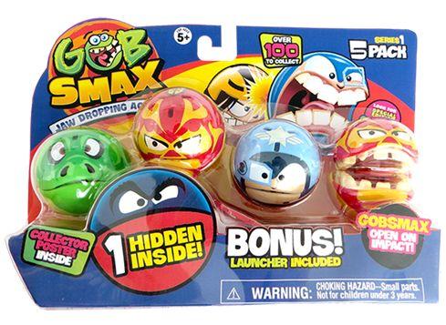 GOBSMAX figur 5-pack serie 1