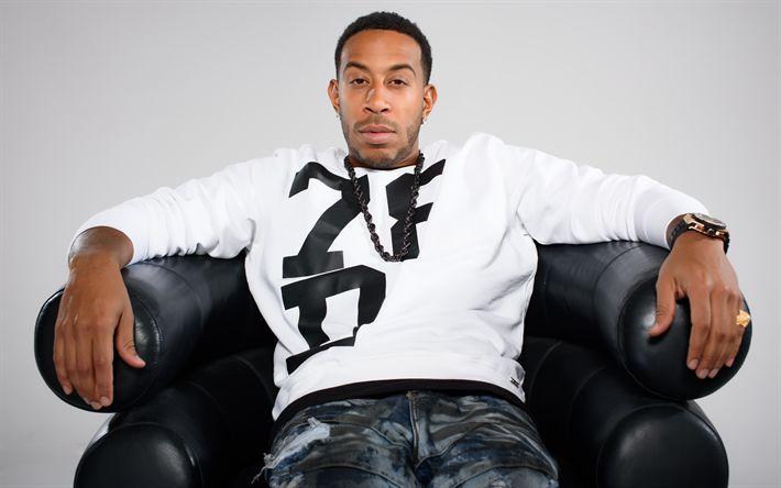 Download imagens Christopher Brian Bridges, Ludacris, O ator americano, rapper, 4k, retrato, Velozes e Furiosos