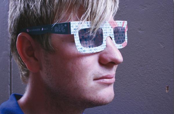 3D glasses application