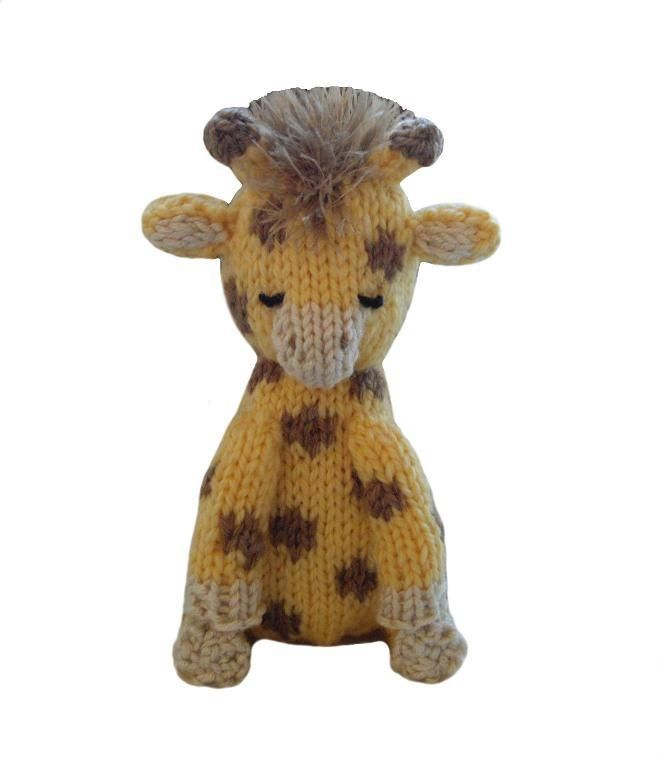 Knitting Pattern Giraffe : Giraffe Toy knitting Giraffe Knitting Stuffed Toys Knitting Pinterest...