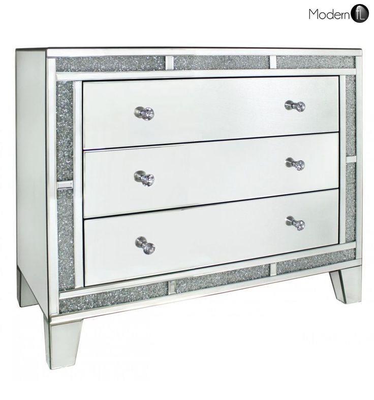 mirrored crystal chest of drawers high quality bedroom mirrored furniture