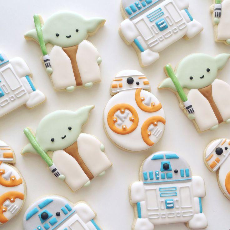 Star Wars Cookies by The Cookie Gallery