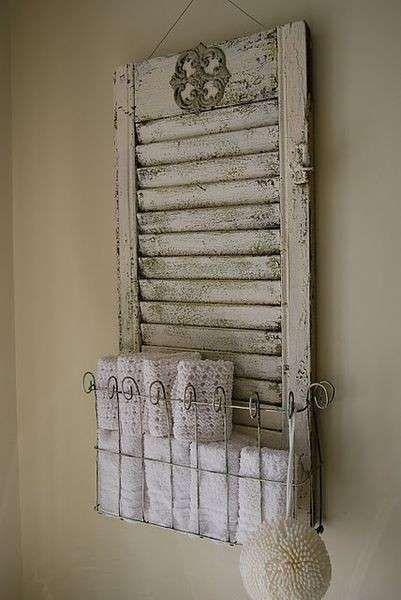 Idee per arredare casa riciclando - Riciclo creativo in bagno