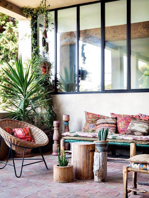 Coussins terrasse  Terrasse inspiration / Blog Lejardindeclaire