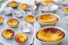 Lizbon yakınlarındaki Belem'in en ünlü tatlısı Pasteis de Nata tarifi.