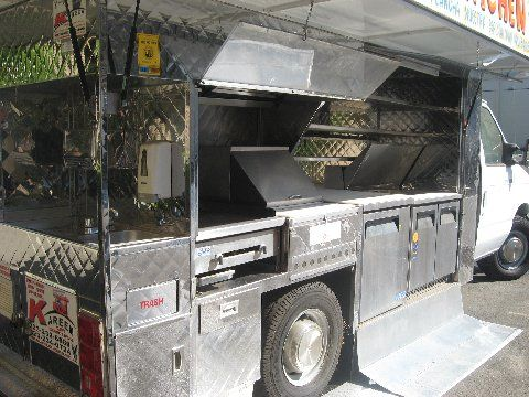 A B Food Truck For Sale