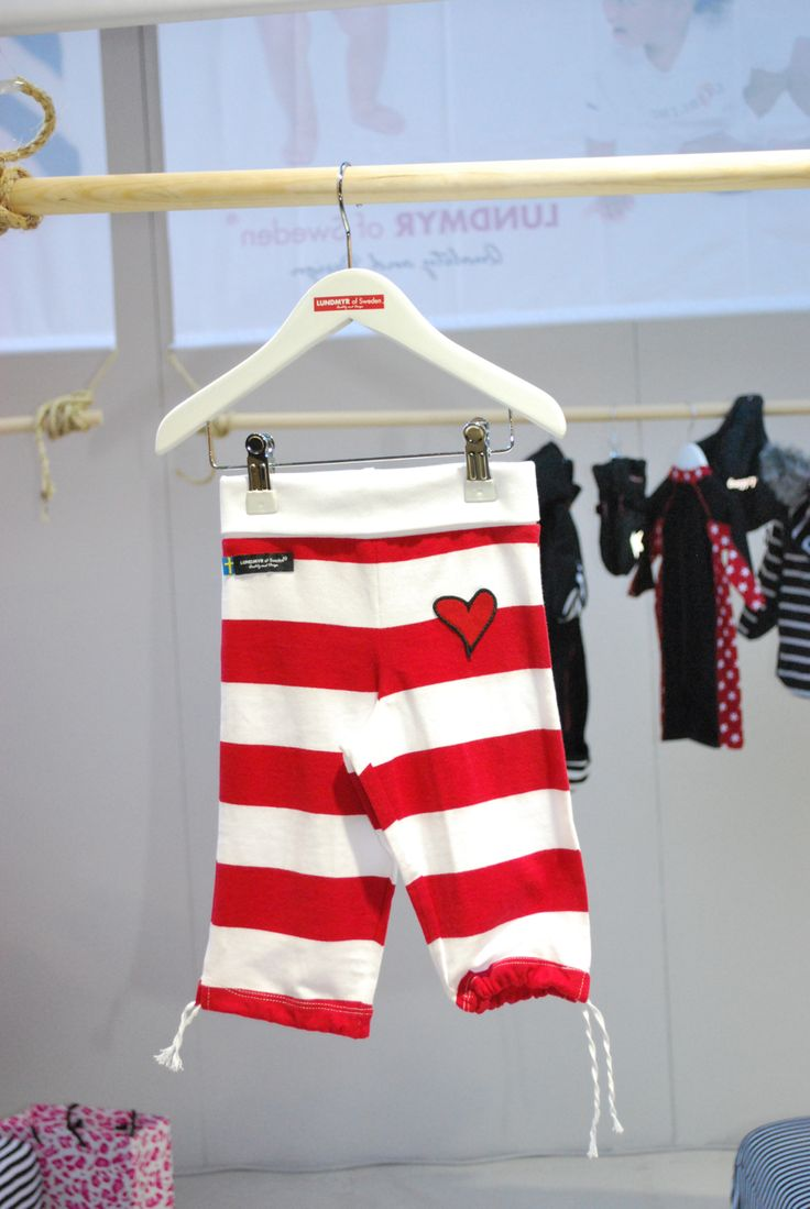 Red and white striped  tricot pants for mini fashionistas . Available in size 0-2 years.
