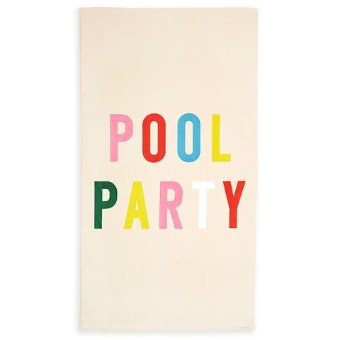 beach, please! giant beach towel - pool party