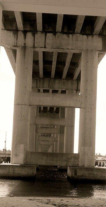 Under the bridge...ft pierce fl