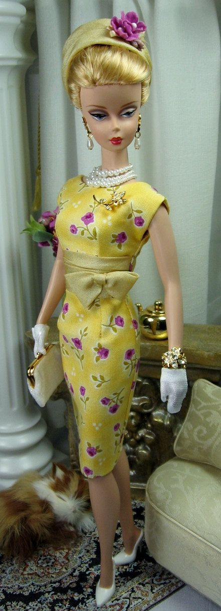 Rosebud for Silkstone Barbie and similar size by MatisseFashions