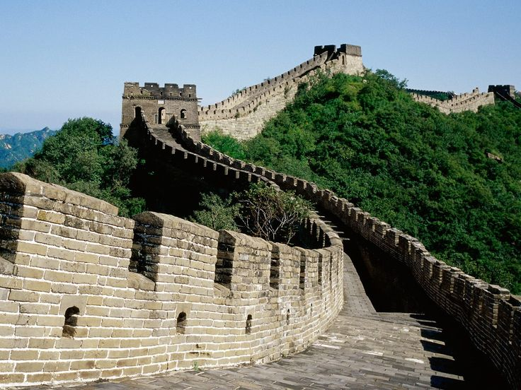 The Great Wall of China. Historical piece of China:)