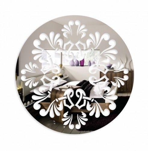 Lustro dekoracyjne na ścianę do salonu
