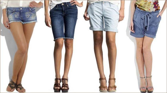 Купить шорты джинсовые короткие модные