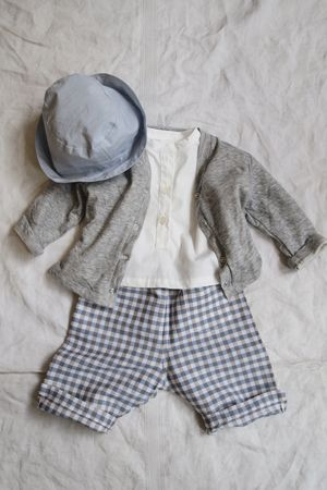 Hat, sweater pants Cute! MAKIE: COORDINATE