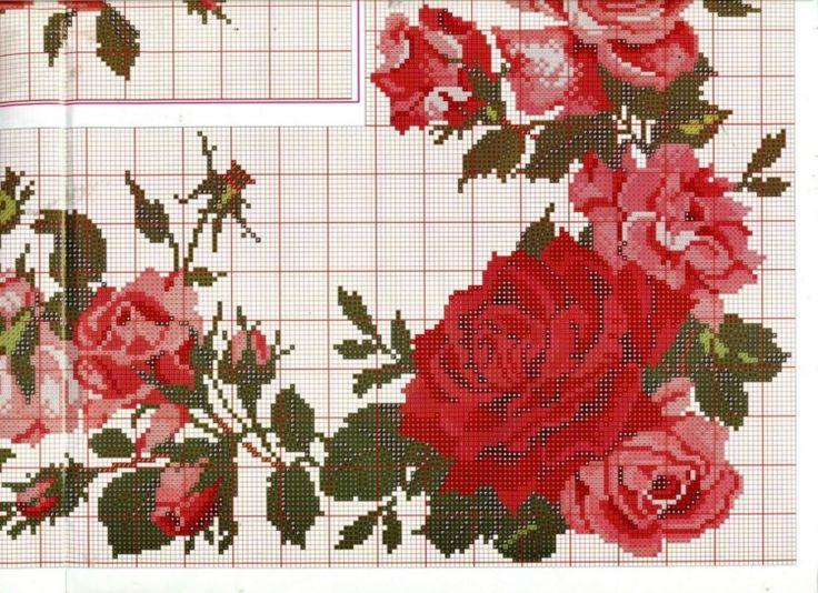 šema za prelepe ruže
