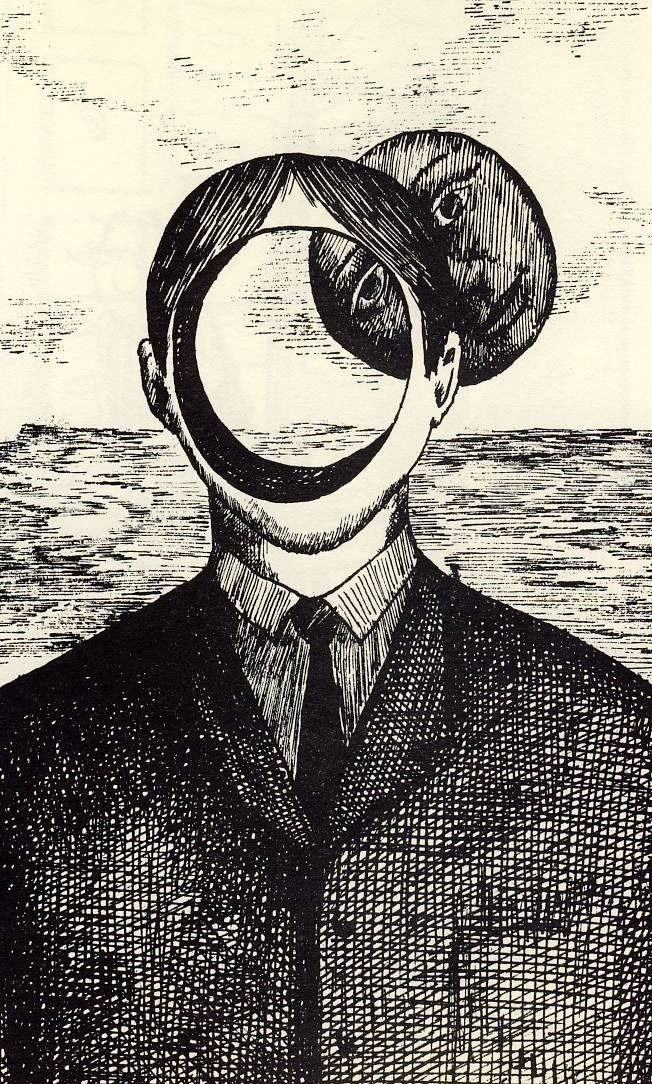 Roland Topor #nomadchic www.nomad-chic.com + http://nomadchic.myshopify.com/collections/rare-collectible-books