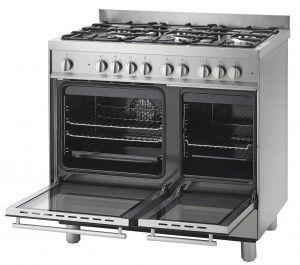 Fornuis met multifunctionele oven 90 cm breed - Voorlichtingsburo Wonen