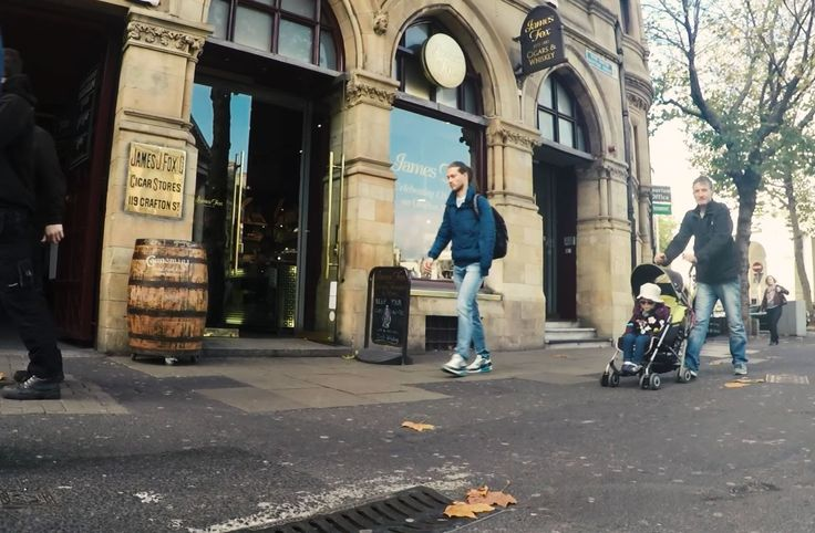 James Fox Cigar and Whiskey Store in Dublin