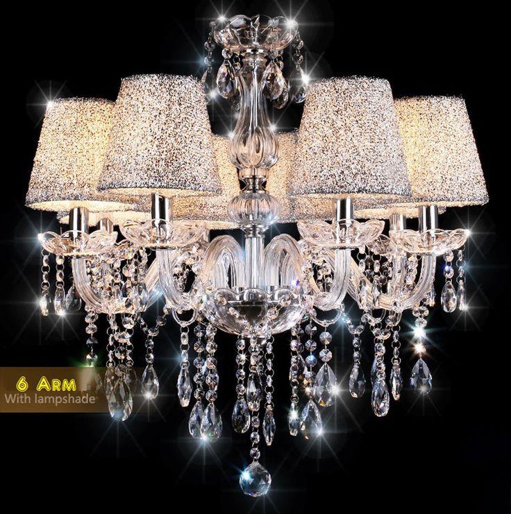 Leuchter kristall hangend modern beleuchtung international wohnzimmer studio