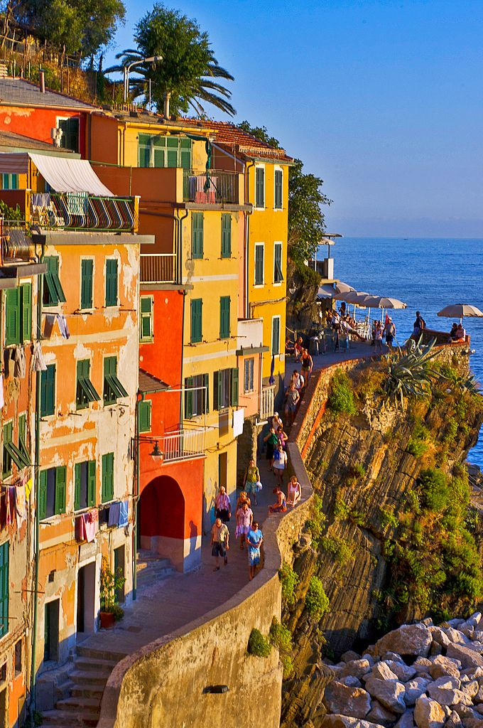 Riomaggiore, Cinque Terre, Italy                                                                                                                                                                                 Plus