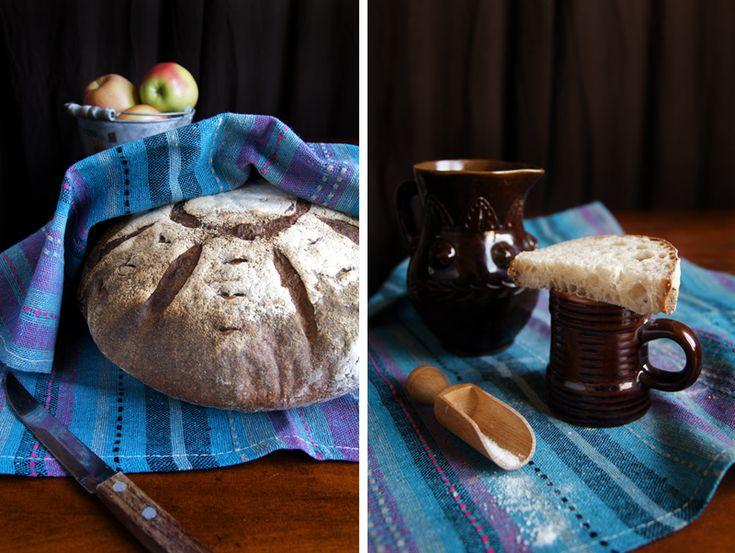 Ещё один Французский хлеб (Pain Au Levain), на закваске