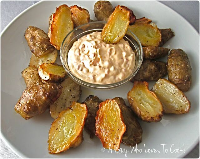 A Guy Who Loves to Cook!: Oven Caramelized Jerusalem Artichokes