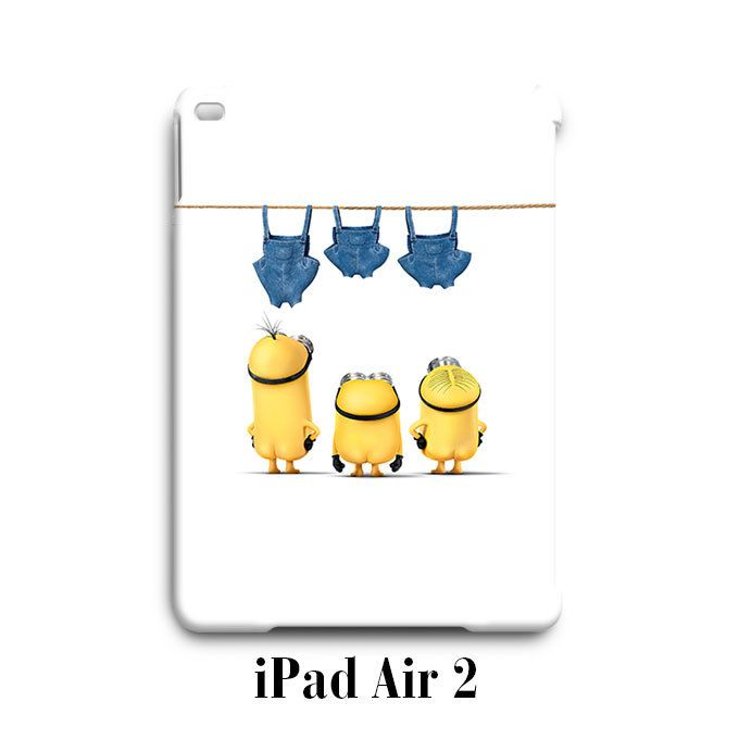 Naked Despicable Me Minion iPad Air 2 Case Cover Wrap Around