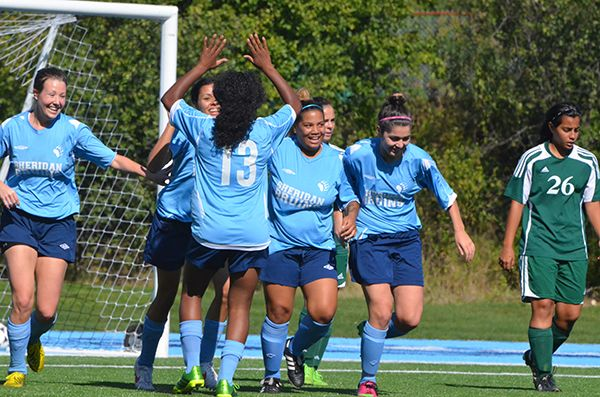 Sheridan soccer teams in Ontario quarter-finals