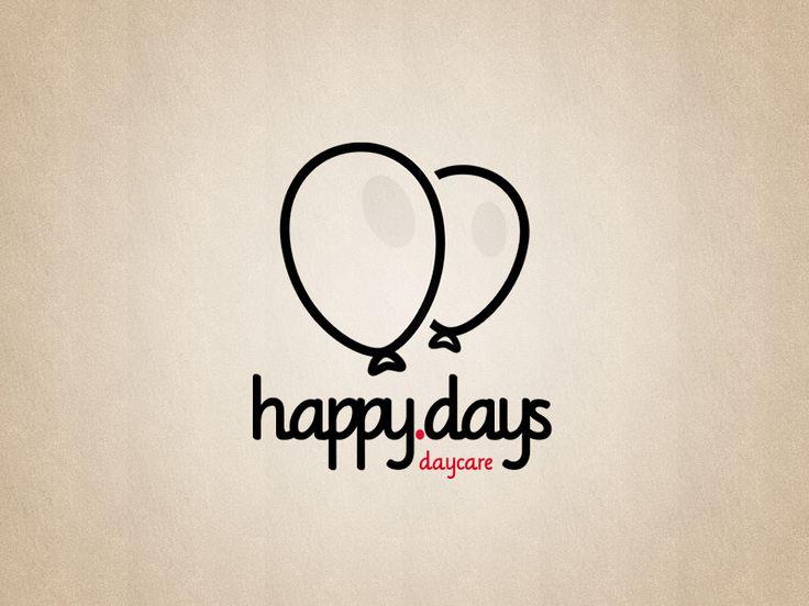 happy days (daycare) logo by @FIF7Y