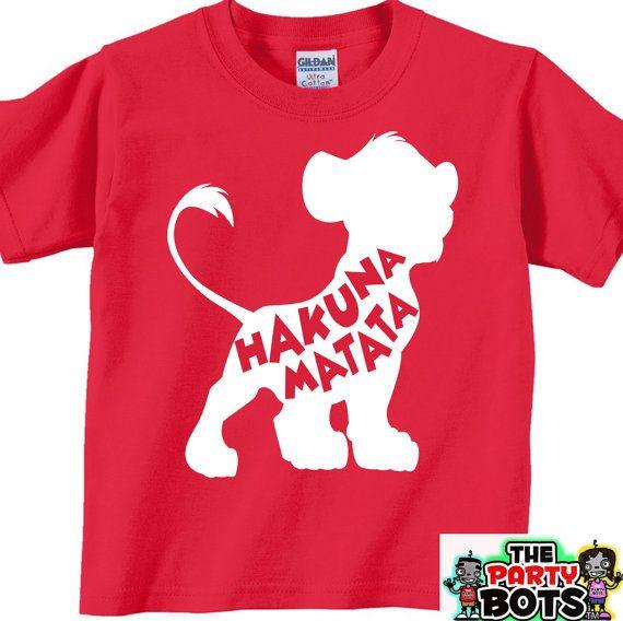 balenciaga shoes men red Hakuna Matata Shirt
