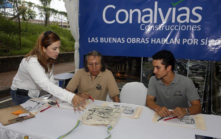 En Panamá Presidente Martinelli inaugura viaducto Avenida de Los Mártires, un proyecto de Conalvías