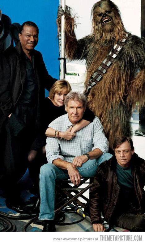 The Legends of Star Wars, 35 Years Later… Oh, Chewy, you haven't aged a bit