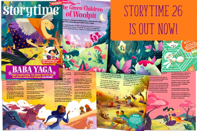 Find out more about our fun and spooky Storytime Issue 26 – all the stories and all our wonderful illustrators too! http://www.storytimemagazine.com/news/making-storytime/storytime-26-is-out-now/