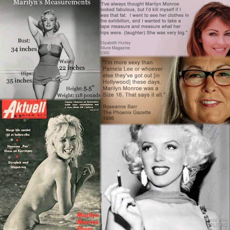 Mandela Effect : Marylin Monroe was thin in this reality ( size 9/10 ) and not the voluptuous Goddess I remember her being at size 16....