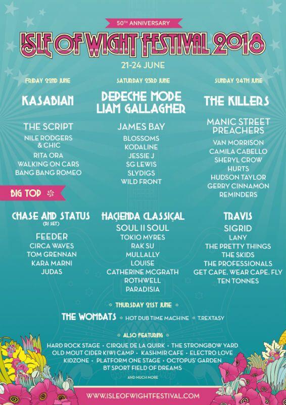 Isle of Wight Festival 2018 | UK Festivals | Isle of wight