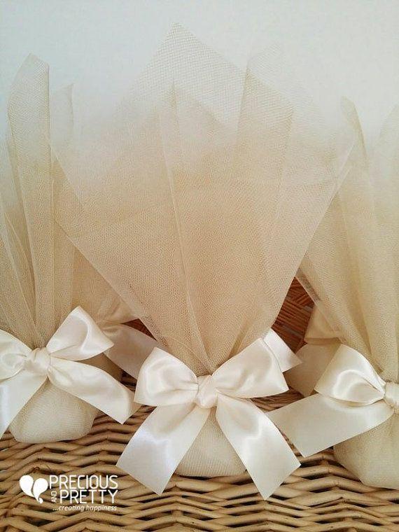 Greek Wedding Bombonieres Traditional Tulle by PreciousandPrettygr