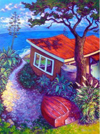 Agave Beach by Rachel Olsen