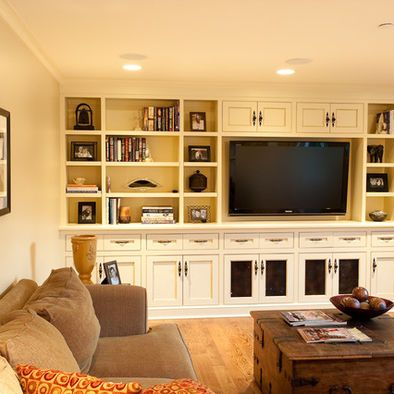 Traditional Media Room Entertainment Wall Units With Fireplace Design Pictures Remodel Decor And