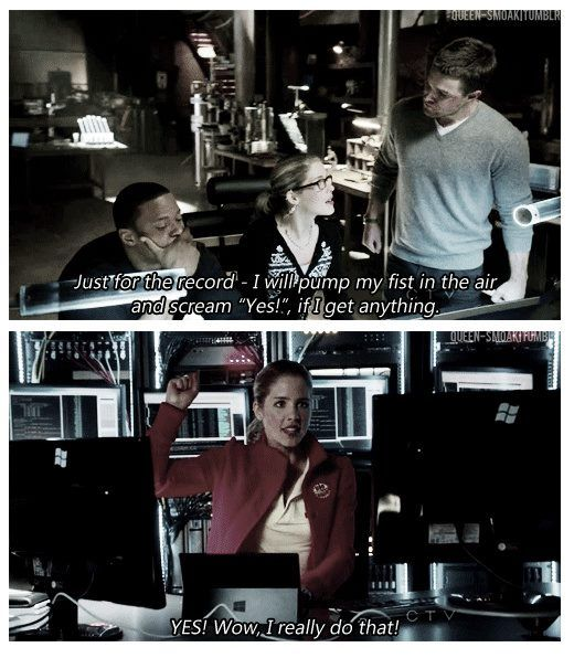 Arrow - Felicity Smoak #Season1