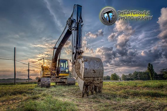 Can Ya Dig It  Fine Art Construction by CriswellPhotography, $15.00