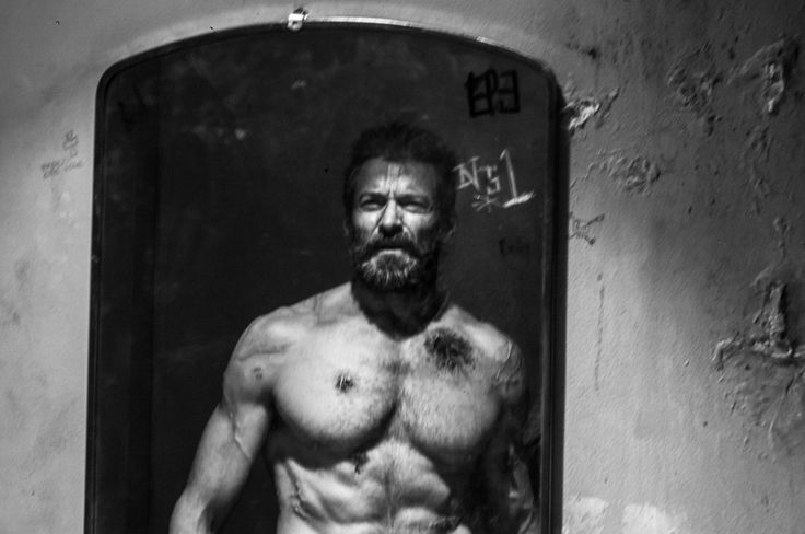 """Wounded  Picture released to promote the upcoming Wolverine movie named """"Logan"""" in march 2017."""