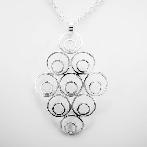 Elas Jewellery Box - CS216 - Sterling silver pendant on a 36 inch chain