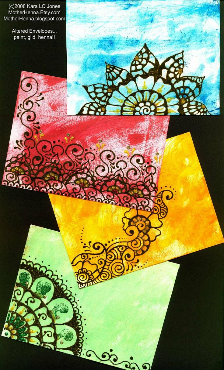 recycle envelopes into art!  I USE ALL THOSE ENVEYS THAT COME IN THE MAIL...