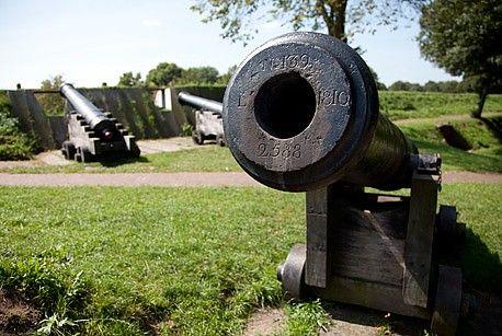 kanonnen Bourtange