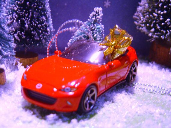 2015 Mazda MX-5 Miata car with Christmas by thesaltboxcollection